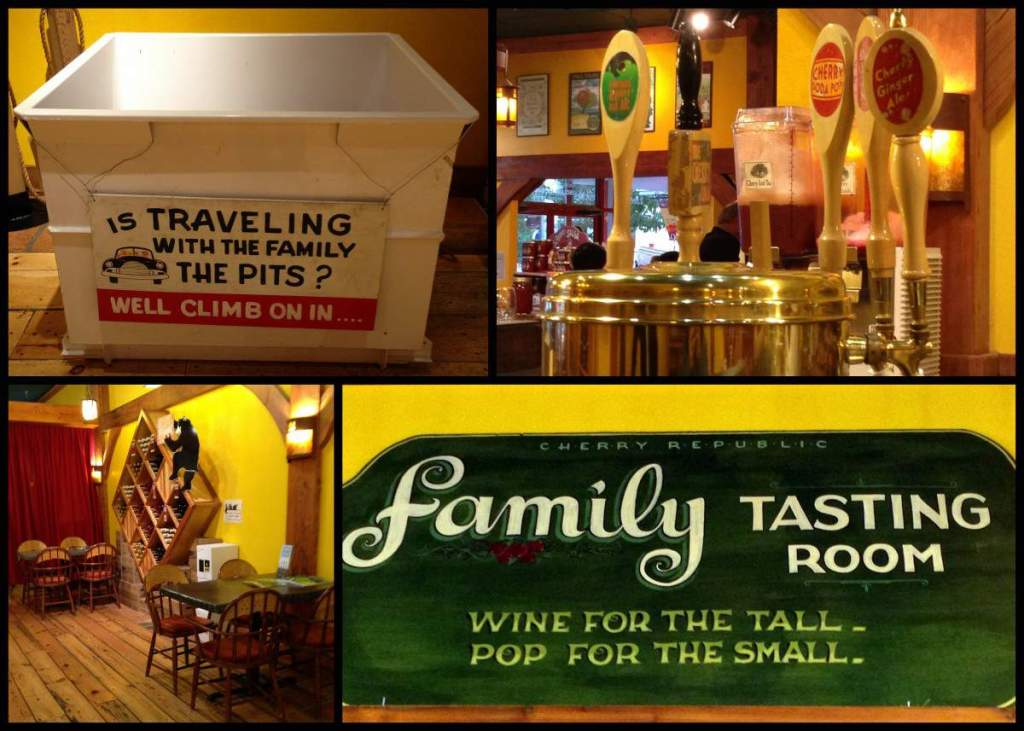 family friendly things to do in traverse city, michigan cherry-republic-kids are a trip