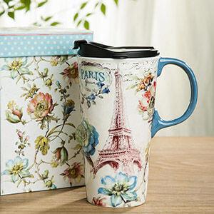 travel coffee mug-Kids Are A Trip