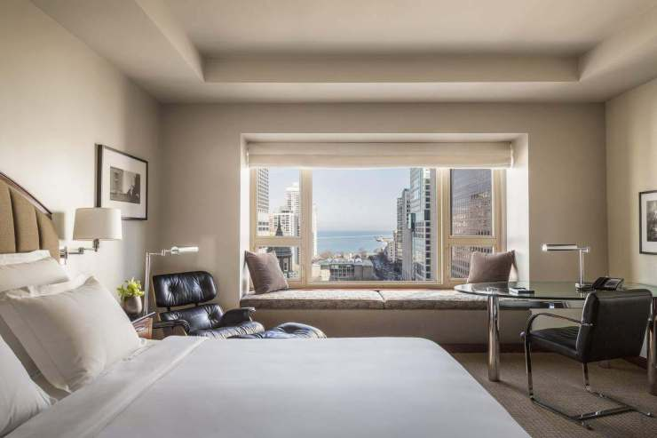 Chicago Hotels for a Romantic Getaway Park Hyatt Room-Kids Are A Trip