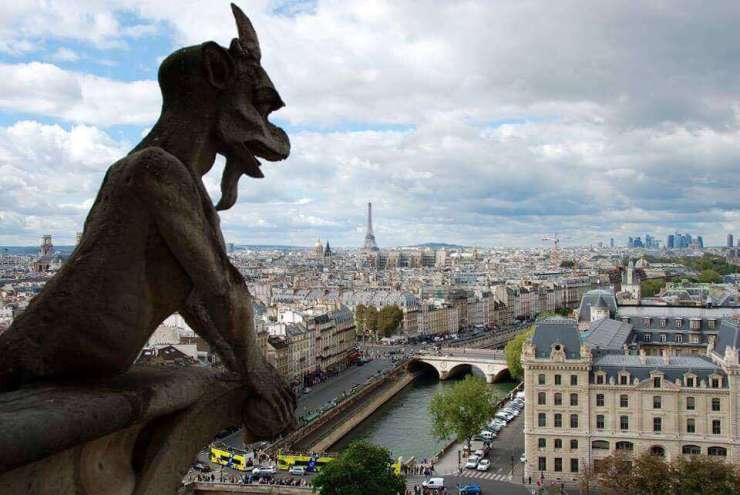 Best Places to Stay with Kids in Paris View from Notre Dame | Kids Are A Trip