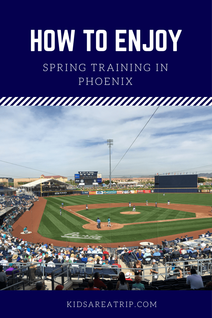 Spring training in Phoenix is one of the best ways to celebrate baseball and the weather. Be sure to read these tips before you go for a perfect day at the park. - Kids Are A Trip