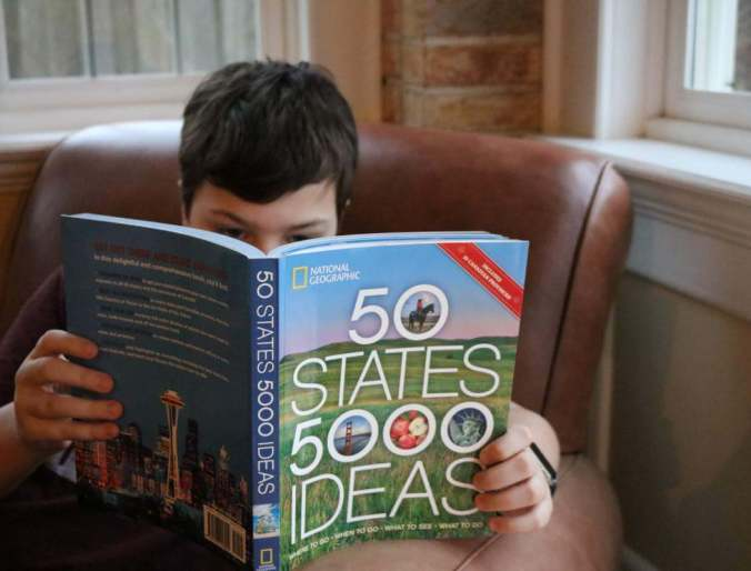 National Geographic's 50 States 5000 Ideas, A Book Review