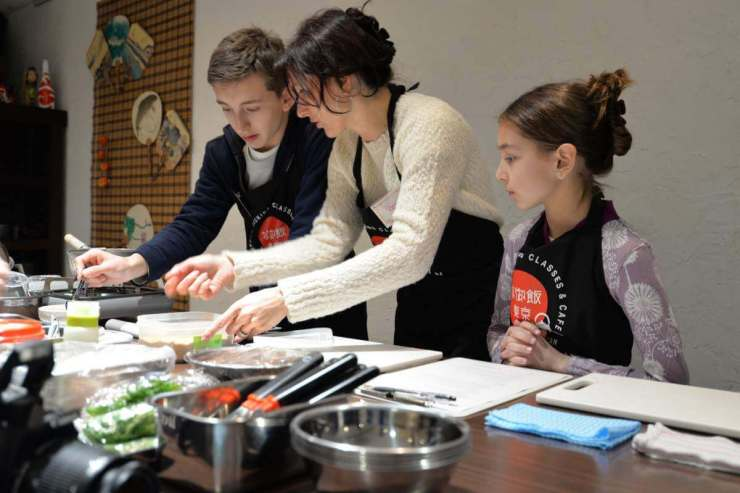 Things Not to Miss with Kids in Tokyo Take a Sushi Class-Kids Are A Trip