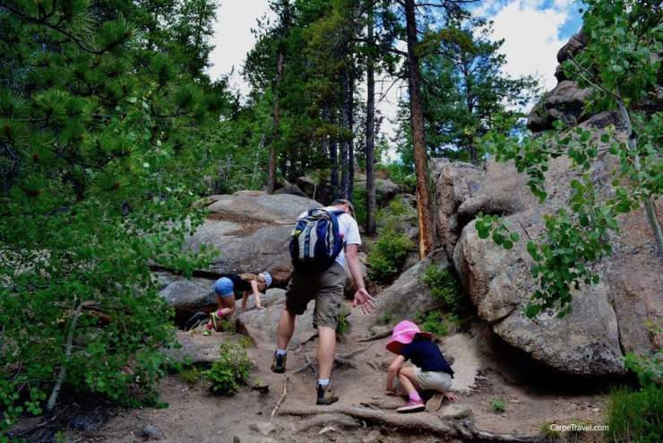 Family Friendly Things to Do in Denver Hiking-KIds Are A Trip