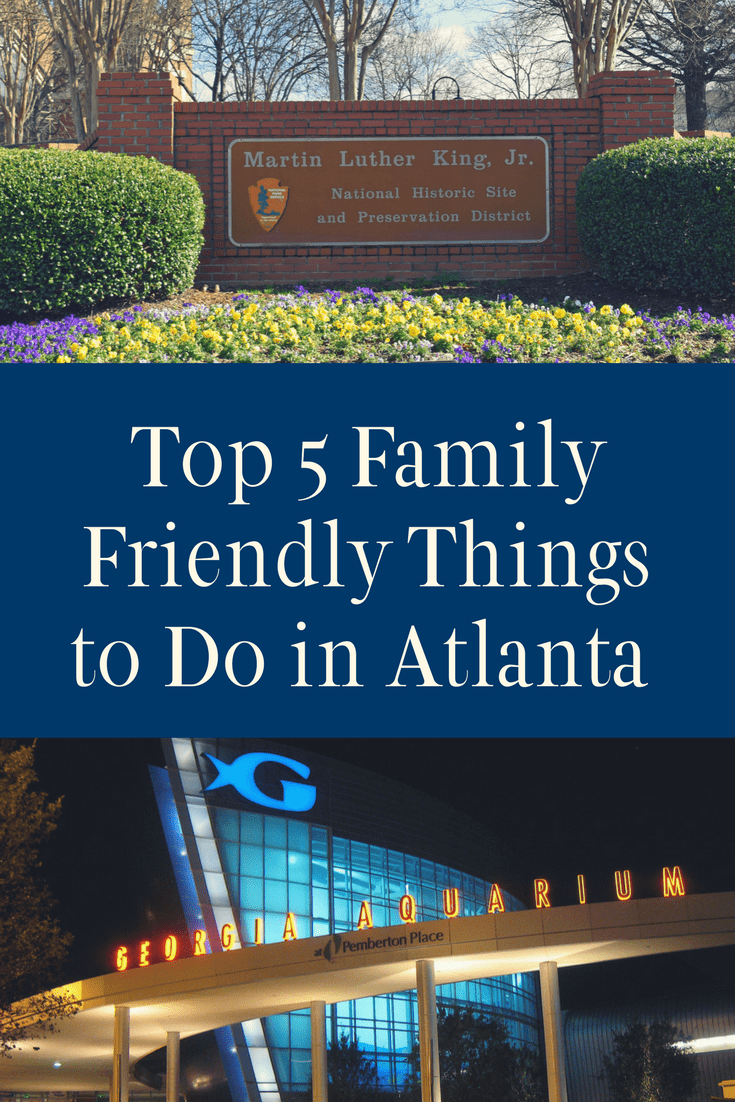This southeastern city might surprise you. Come and see the top 5 family friendly things to do in Atlanta. There's fun to be had! - Kids Are A Trip
