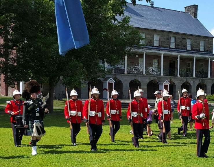 Family Friendly things to do fredericton Canada changing of the guard-Kids Are A Trip