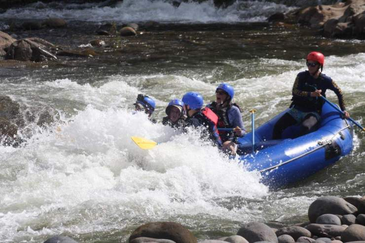 Try white water rafting on a Costa Rica Family Vacation-Kids Are A Trip