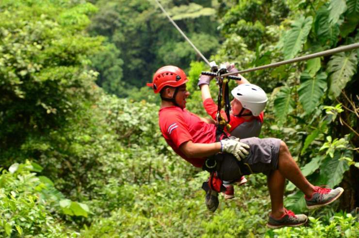 Adventures by Disney Costa Rica Vacation Zip Line-Kids Are A Trip