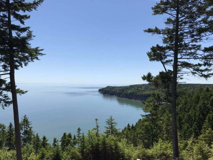 New Brunswick, Canada Road Trip Fundy Trail Parkway View Point-Kids Are A Trip