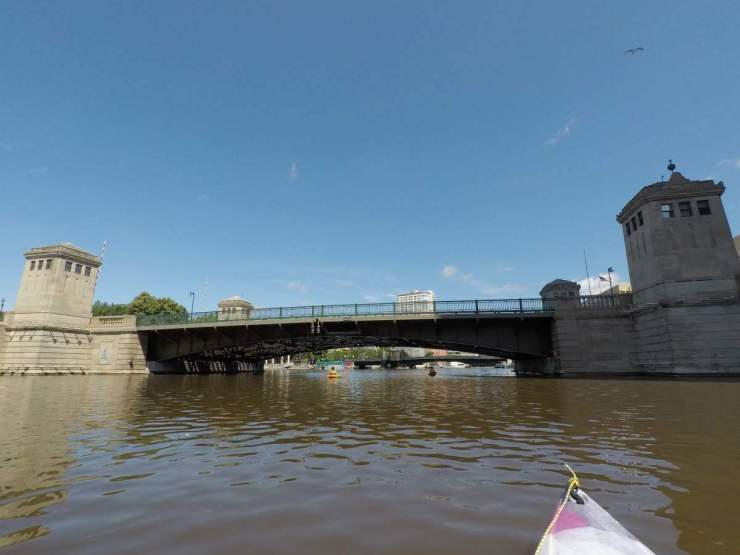 Best Things to Do in Milwaukee Kayak on the River-Kids Are A Trip