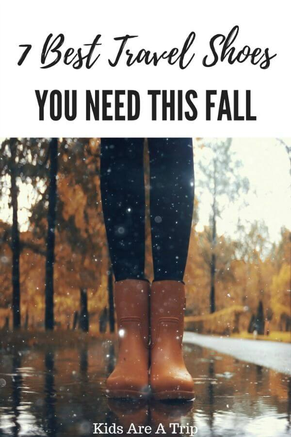 Fall travel shoes for women-Kids Are A Trip