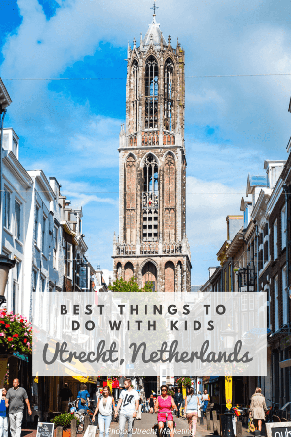 This Dutch city is absolutely charming. With its kid friendly museums, beautiful canals, and delicious cafés, families will love the many family friendly things to do in Utrecht, Netherlands.-Kids Are A Trip