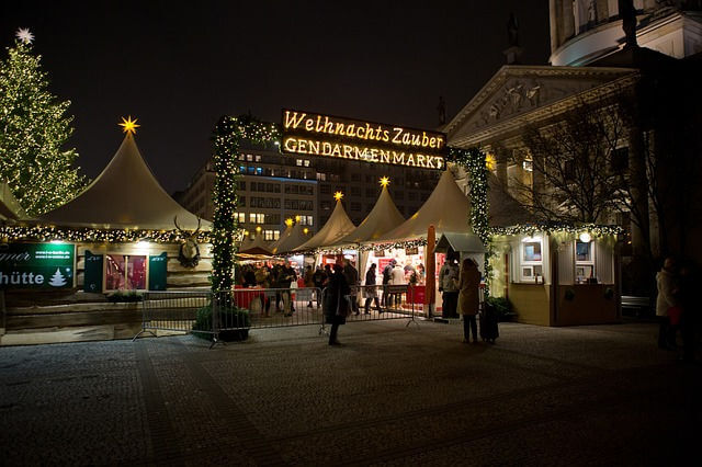 Gendarmenmarkt Berlin Christmas Market Germany