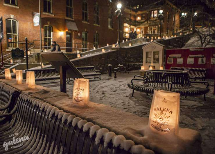 Best Christmas events in the Midwest Galena-Kids Are A Trip