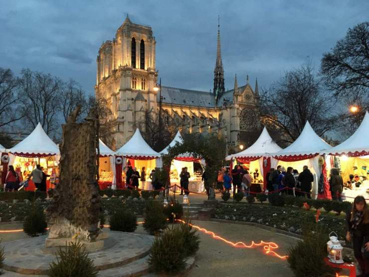Paris Christmas Market-Kids Are A Trip