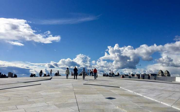 Visit Norway with Kids Oslo Opera House-Kids Are A Trip