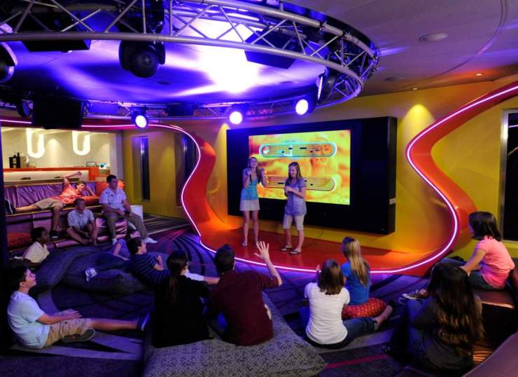 Disney Cruise with Teens Vibe Club-Kids Are A Trip