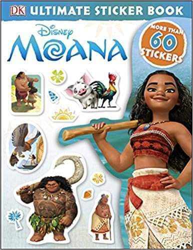 Moana Sticker Book Road Trip Activity-Kids Are A Trip