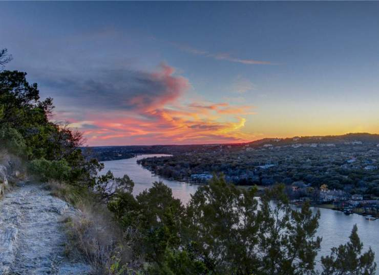 Weekend in Austin with Kids View Mount Bonnell-Kids Are A Trip