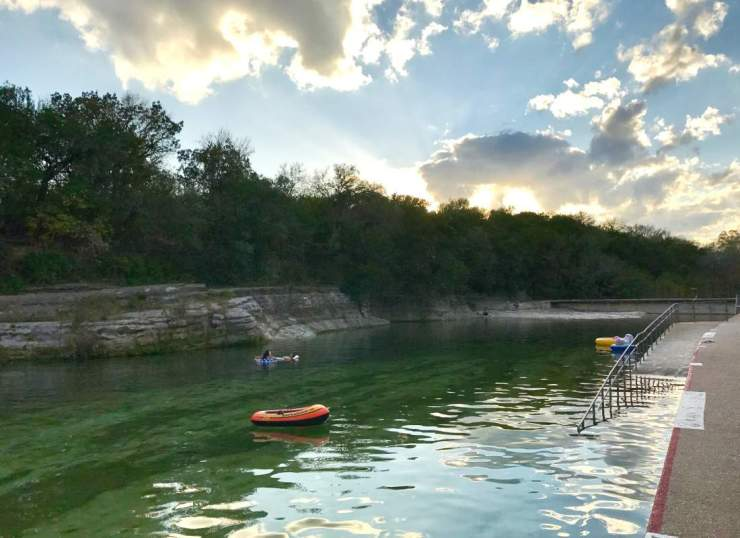 Weekend in Austin with Kids Zilker Park Barton Springs-Kids Are A Trip