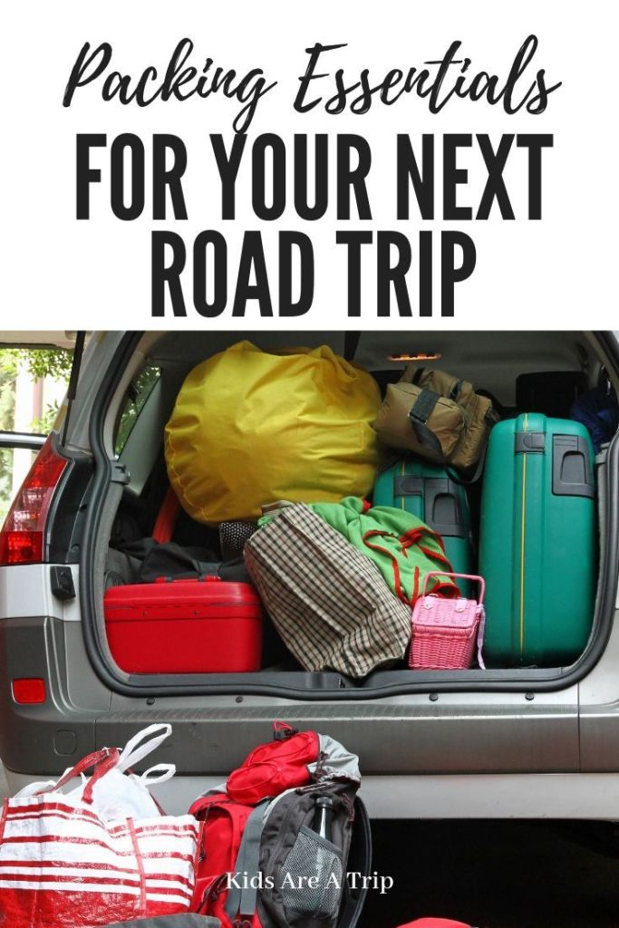 If you are taking a road trip, there are definitely essentials to pack. Here is what to add to your list and a printable to help pack. - Kids Are A Trip #packinglist #printable #roadtrip #familytravel