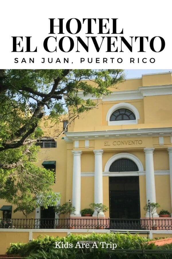 Hotel El Convento San Juan is a luxury boutique hotel in San Juan, Puerto Rico. With beautiful hacienda decor, fabulous hospitality, and the perfect location, it's the ideal hotel for staying in the city. - Kids Are A Trip