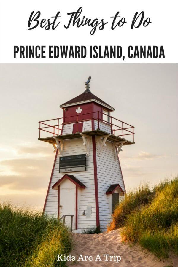 If you're looking for the best things to do on Prince Edward Island with kids, we have you covered. PEI is the perfect place for an unplugged vacation. - Kids Are A Trip