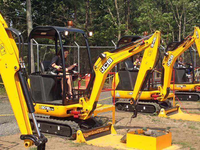 Day trips from NYC with kids Diggerland NJ-Kids Are A Trip