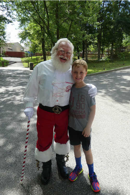Santa Claus Indiana Holiday World-Kids Are A Trip
