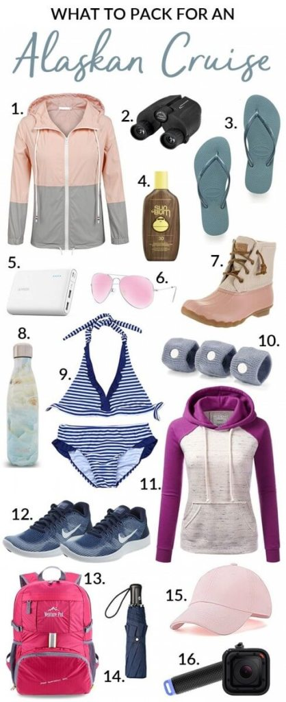 What to Pack for an Alaskan-Cruise-Packing-List-Kids Are A Trip