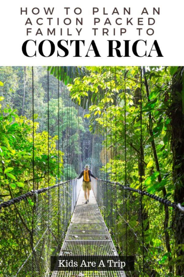 If you want a family vacation with a ton of adventure, look no further than Costa Rica. With perfect weather, friendly locals, and excursions kids will love, Costa Rica with kids is fun for everyone! - Kids Are A Trip
