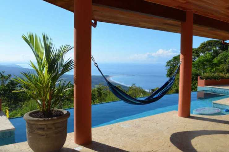 Costa Rica holiday home with a view