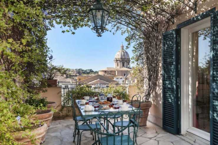 Luxury apartment to rent in Rome