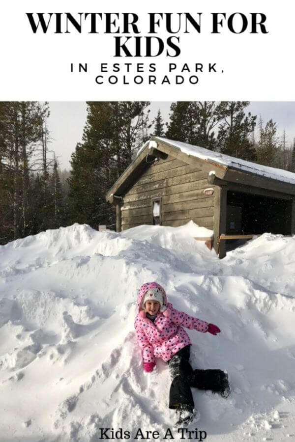 If you're looking for things to do in Estes Park, Colorado with kids, look no more. Here's what to do in Estes Park with kids in the winter. - Kids Are A Trip