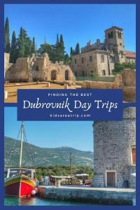 While there are plenty of things to do in Dubrovnik, sometimes the crowds can be overwhelming. Here are our choices for best day trips from Dubrovnik for some peace and quiet. - Kids Are A Trip #Croatia #Dubrovnik #Mediterranean #Europe