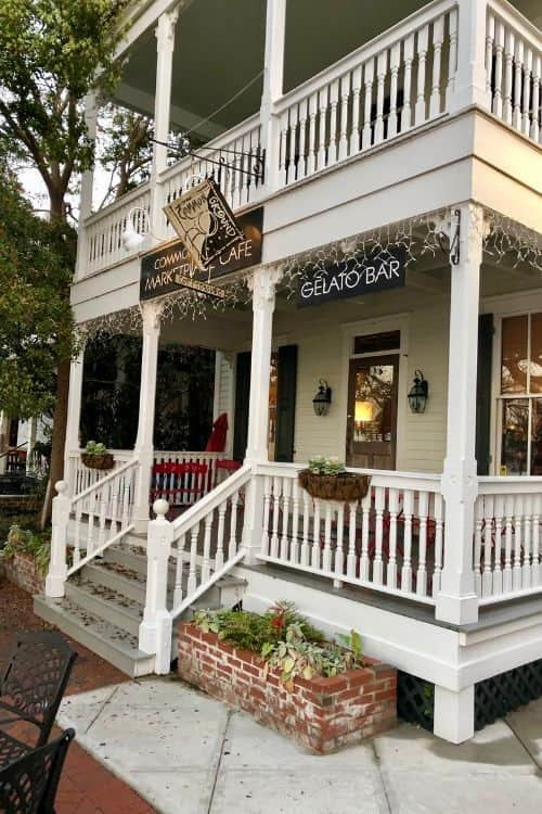 Places to eat in Beaufort include starting the day with coffee from Common Ground Coffee Shop.