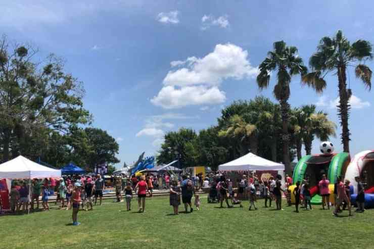 The Beaufort Water Festival is one of many regional festivals.