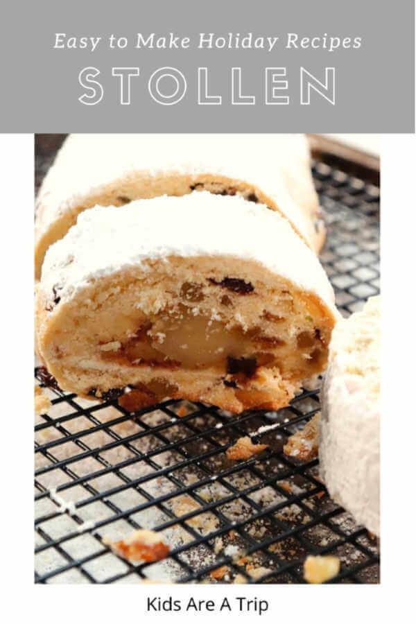 Stollen Bread recipe-Kids Are A Trip