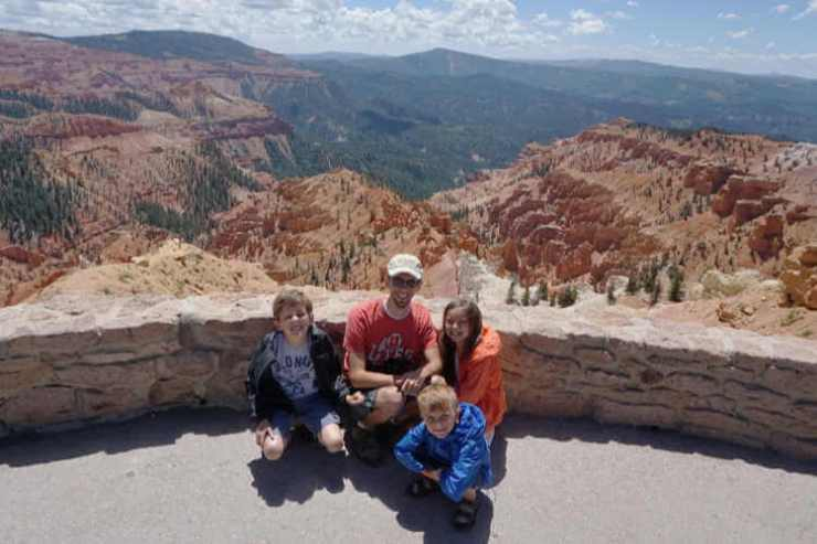 Cedar Breaks National Monument-Kids Are A Trip