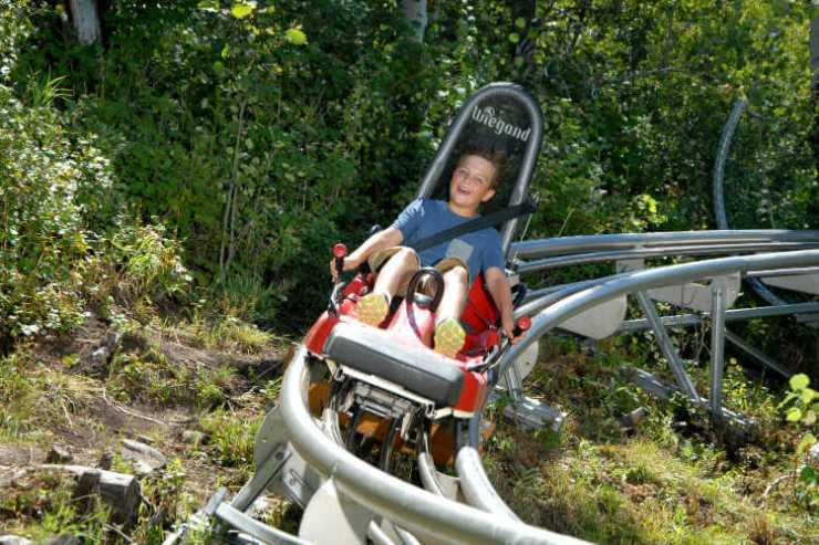 Park City Alpine Coaster-Kids Are A Trip