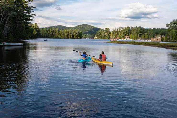 Kayaking Lake Placid New York-Kids Are A Trip