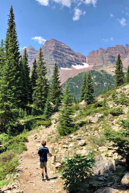 aspen-crater-lake-trail-maroon-bells-rad-family-travel - Tanya Raedeke