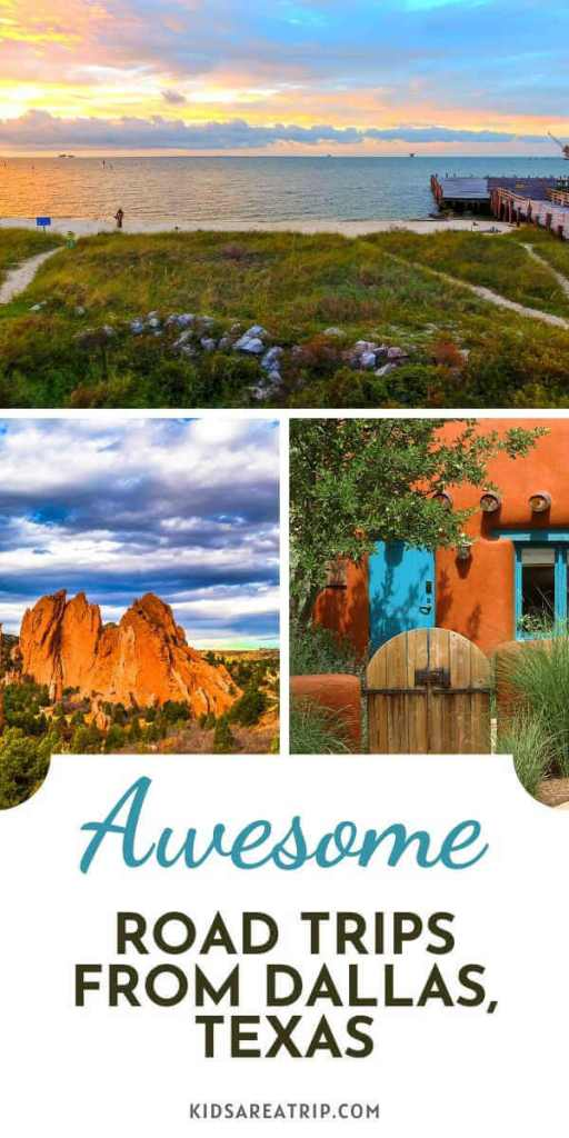 Awesome Road Trips from Dallas Texas-Kids Are A Trip