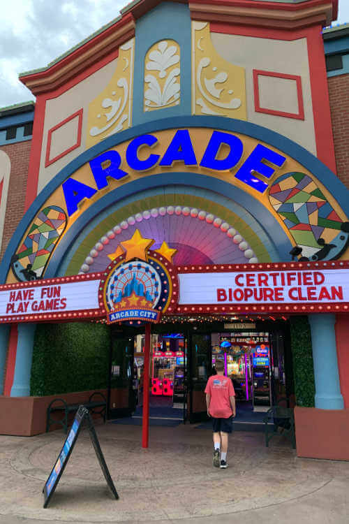 Arcade City The Island in Pigeon Forge-Kids Are A Trip