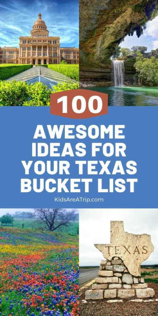 100 Ideas for Your Texas Bucket List-Kids Are A Trip