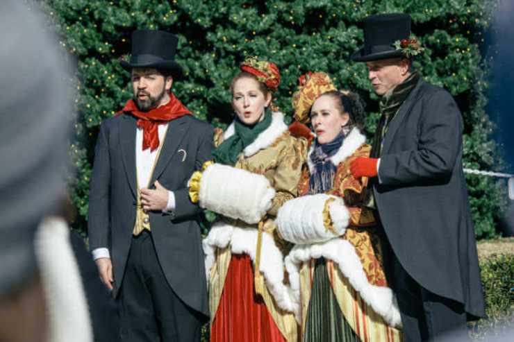 Dickens of a Christmas in downtown Franklin Tennessee