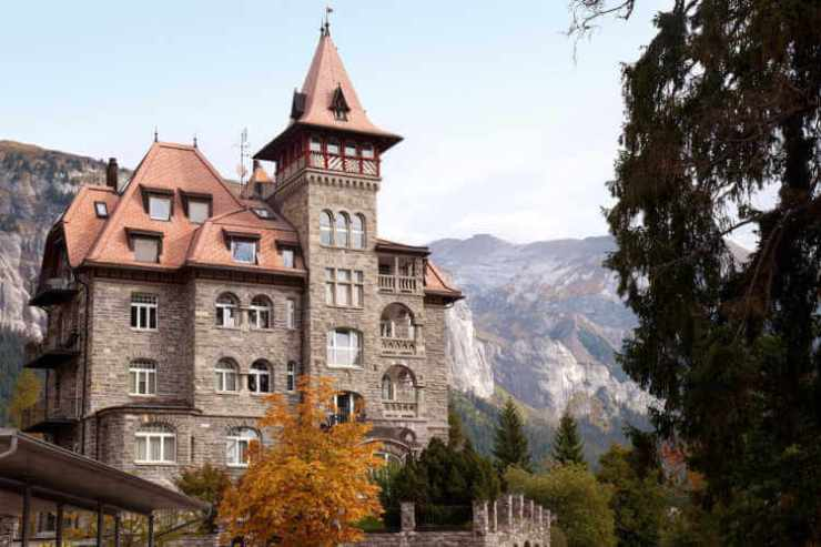 Castle for rent in Switzerland-Kids Are A Trip