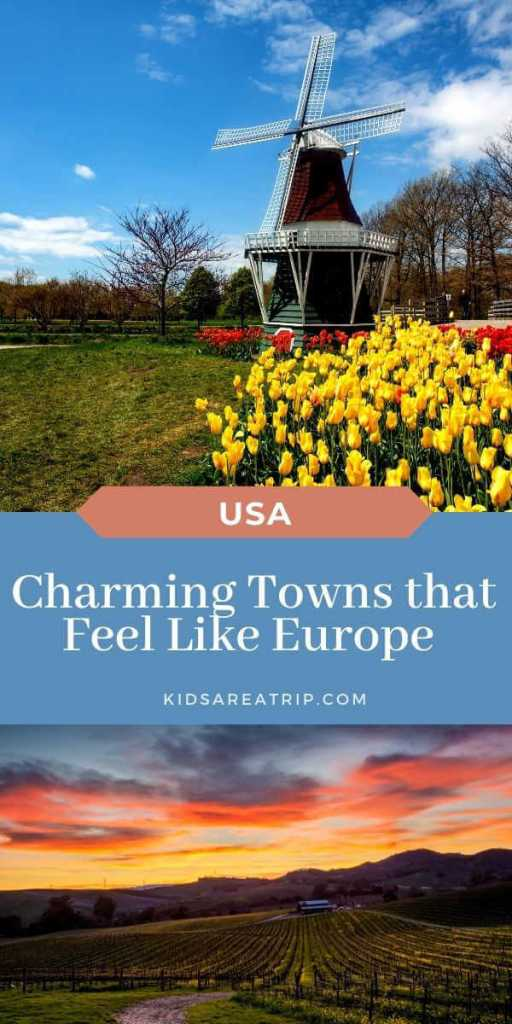 Charming European Cities in America to Visit-Kids Are A Trip