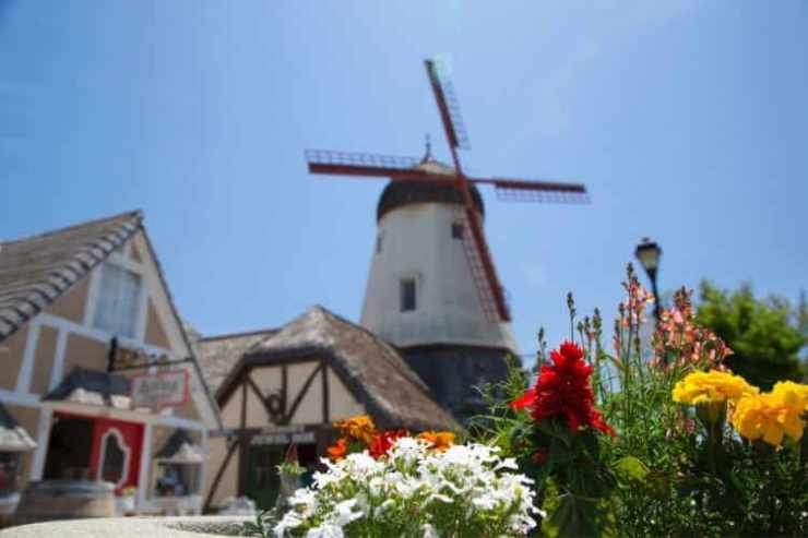Solvang California windmill-Kids Are A Trip