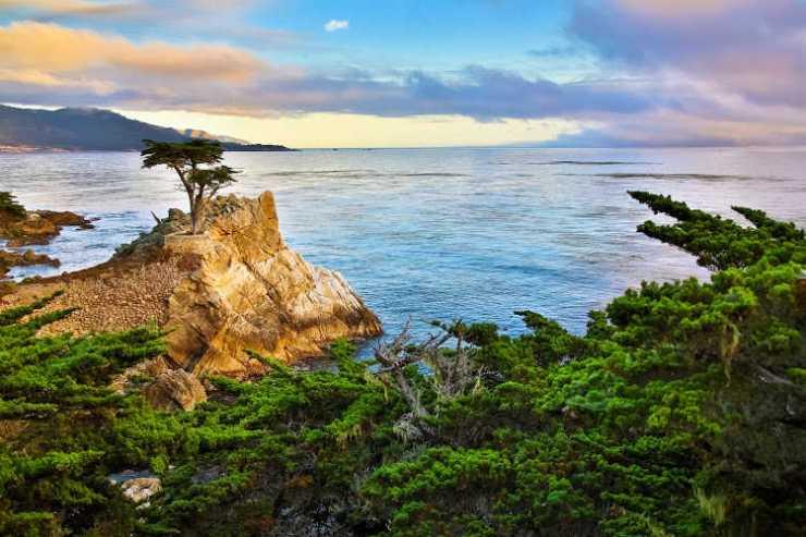 Carmel California beach town